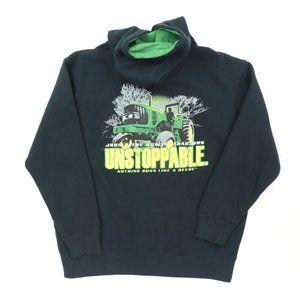 John Deere Adult Large Unstoppable Full Zip Hoodie